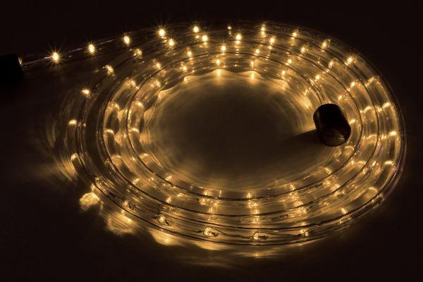 LED-Lichtschlauch 10m mit 360 LEDs, warmweiß