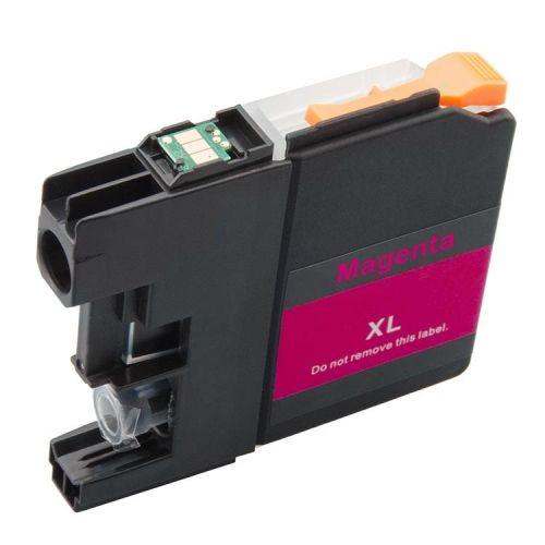 Druckerpatrone magenta mit Chip für Brother, Typ BK121M-Chip