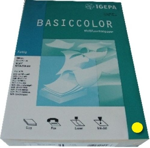 Multifunktionspapier intensivgelb A4 160g 250 Blatt