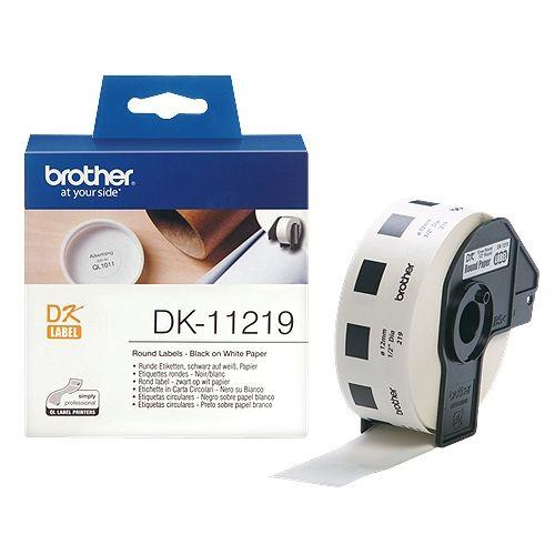 brother DK-11219, DK-Label,12 mm, 1200 St.