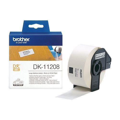 brother DK-11208, DK-Label, 38 mm x 90 mm, 400 St.