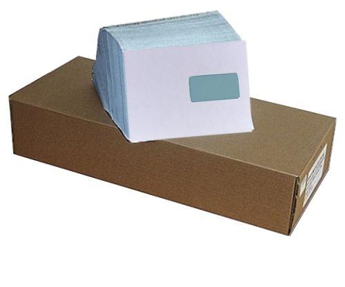 500 Stück Briefumschläge Premium, C5 mit Fenster