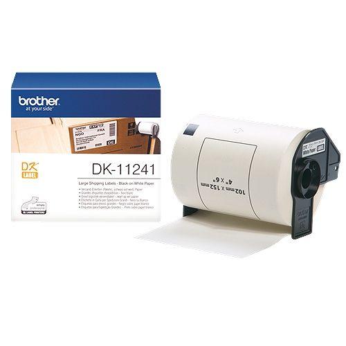 brother DK-11241, DK-Label, 102 mm x 152 mm, 200 St.