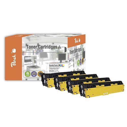 Peach MultiPack PT308, kompatibel zu HP CE320 / 321 / 322 / 323