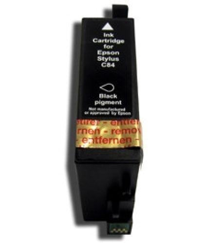 kompatible Druckerpatrone Black/schwarz (groß), Art TPEc84bk