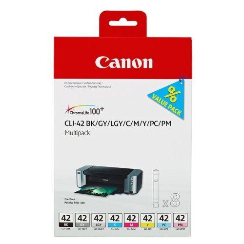 Original Canon Multipack CLI-42 - 8 Patronen