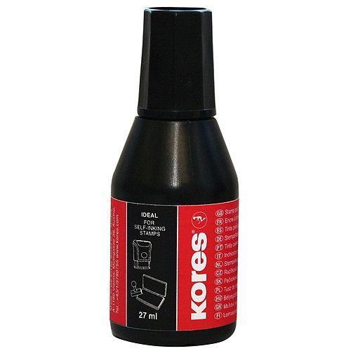 Stempelfarbe, 27 ml, schwarz