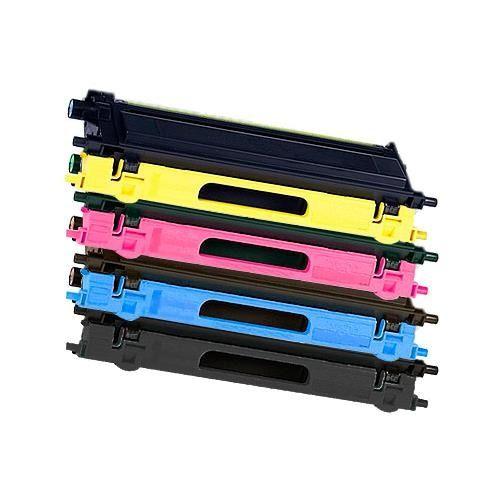 Toner-Sparset: 4 x BLT135, Rebuild für Brother-Drucker