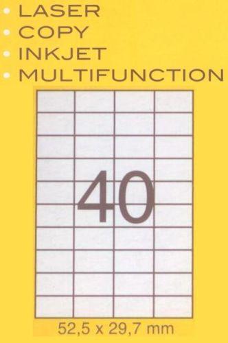Etiketten 52,5x29,7 mm , 400 St. Packung