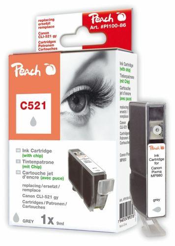 Peach Druckerpatrone PI100-86, kompatibel zu Canon CLI-521gy