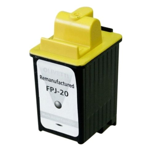 Druckerpatrone für Olivetti, schwarz, 20ml, TPO20rw