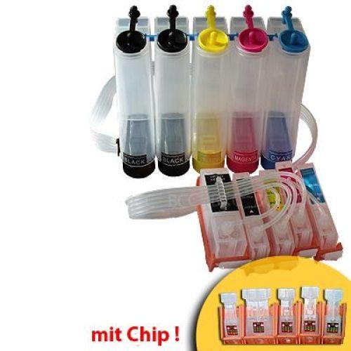 CISS Dauerdrucksystem CKiP4600 + 100ml-Tinten