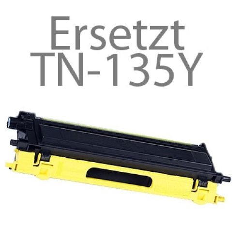 Toner BLT135Y, Rebuild für Brother-Drucker mit TN-135 Y