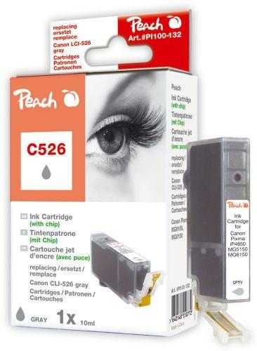 Peach Druckerpatrone PI100-132, kompatibel zu Canon CLI-526gy