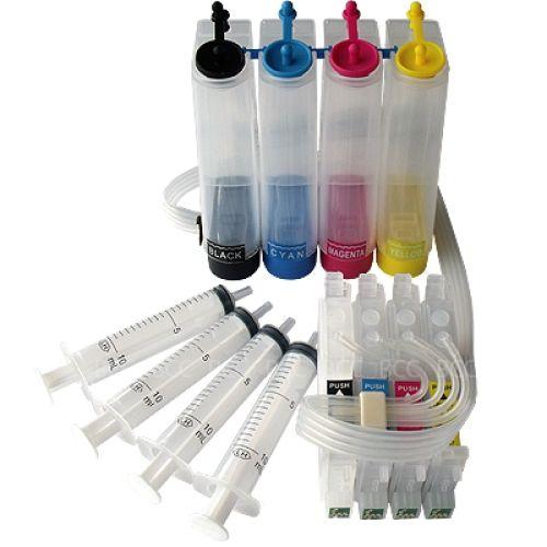 CISS Dauerdrucksystem EKD68 + 1000ml-Tinten (pigment)