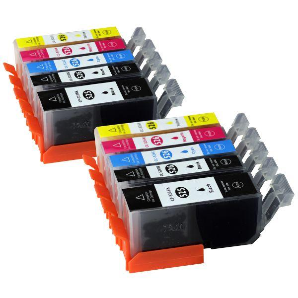 * Aktuelles Sparset: 10 Patronen mit Chip CS525/526CHIP-10
