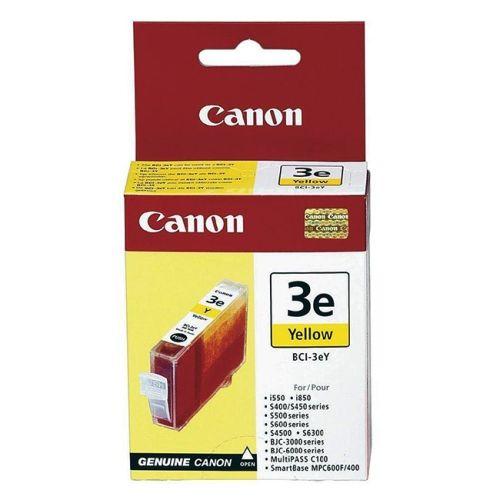 Original Canon Tintenpatrone Yellow Nr. 3, BCI-3eY