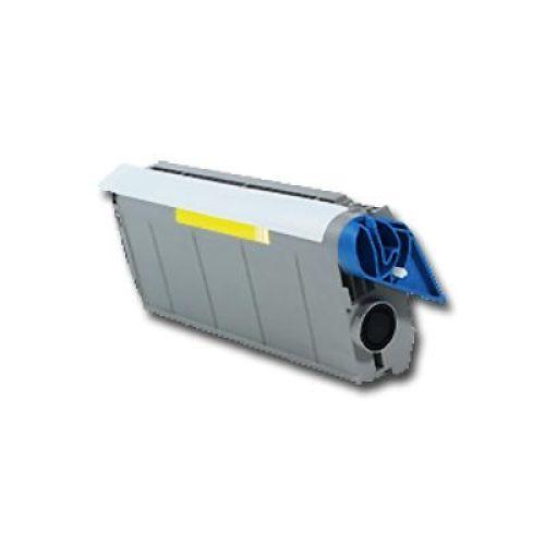 Toner für OLC7100Y, Rebuild für Oki-Drucker, ersetzt 41304209
