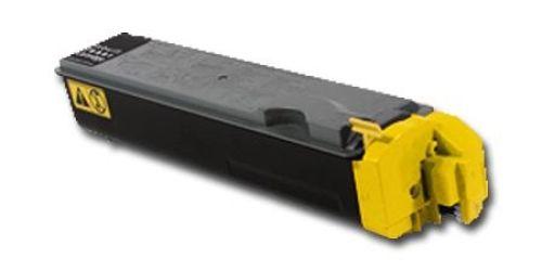 Toner KLT510Y, Rebuild für Kyocera-Drucker, ersetzt TK-510Y