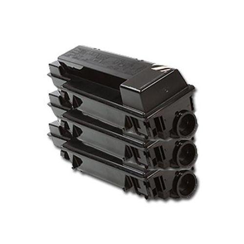 Toner-Set: 3 x schwarz, alternativ zu Kyocera TK-320
