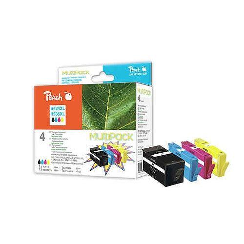 MultiPack Peach PI300-639 kompatibel zu HP 934XL / 935 XL