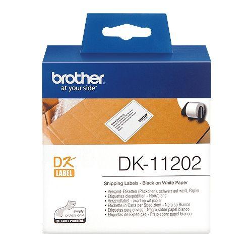 brother DK-11202, DK-Label, 62 mm x 100 mm, 300 St.