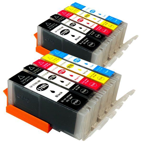 * Aktuelles Sparset: 10 Patronen mit Chip CS570/571CHIP-10