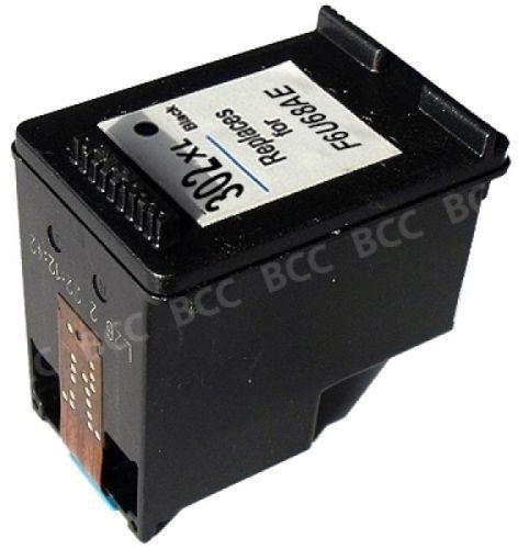 Druckerpatrone Typ 302XL, black, 18ml, H302XLBrw