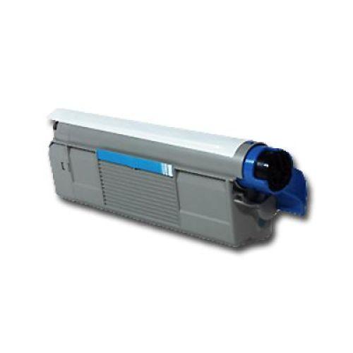 Toner OLC5600C, cyan, Rebuild für Oki-Drucker, ersetzt 43324407