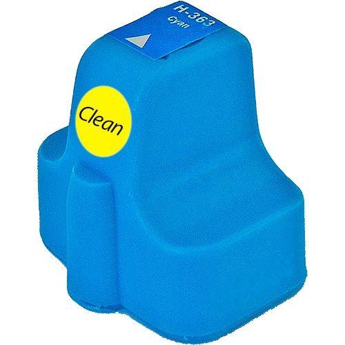 Reinigungspatrone cyan, kompatibel zu HP 363XL / C8771E