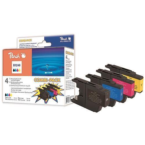 Druckerpatronen Peach Combi-Pack, kompatibel zu LC1220, LC1240