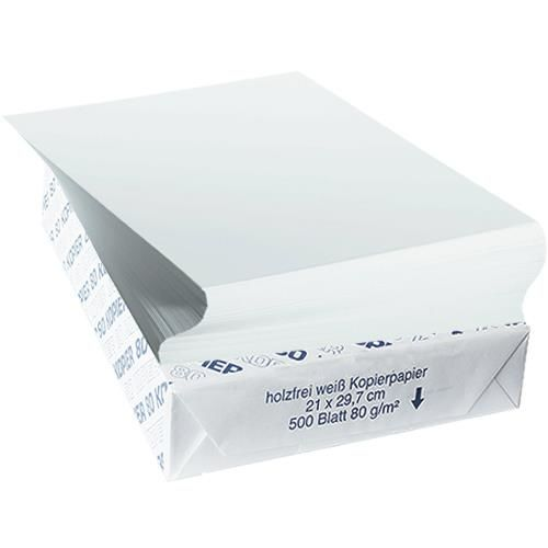 Drucker-/Kopierpapier Universal, 500 Blatt, 80g/qm - Sonderpreis
